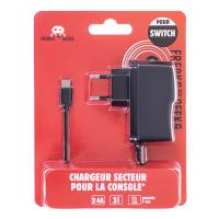 image produit Chargeur secteur pour la console Nintendo Switch et Switch Lite (pas le dock)