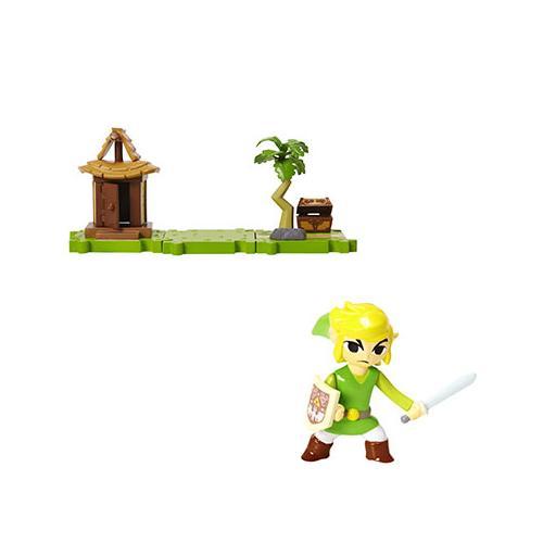 1 figurine Zelda: Link + Ile de l'Aurore