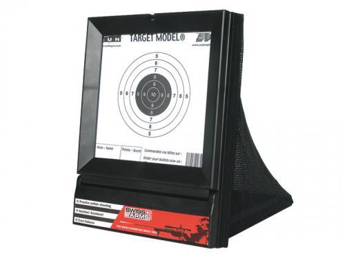 Cible filet (qui récupère les billes et possibilité d'imprimer soi-même les cibles)