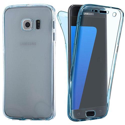 Coque en gel intégrale SAMSUNG Galaxy NOTE 7 - Bleu