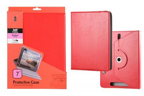 Coque Universelle 7 pouces pour Tablette Rouge