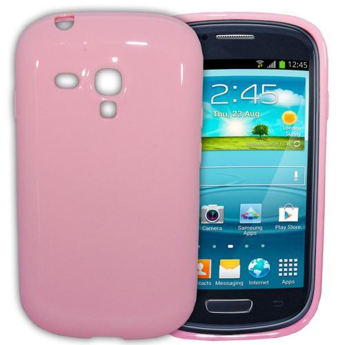 Etui Housse Coque Pastel Samsung Galaxy S3 Mini - Rose