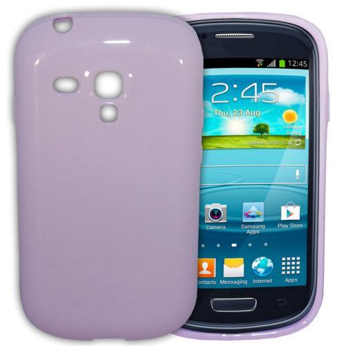 Etui Housse Coque Pastel Samsung Galaxy S3 Mini - Violet