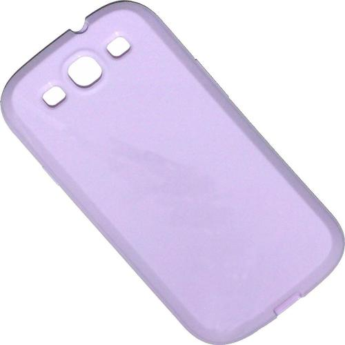 Etui Housse Coque Pastel Samsung Galaxy S3 - Violet