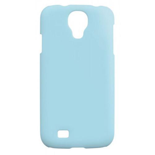 Etui Housse Coque Pastel Samsung Galaxy S4 Mini - Bleu
