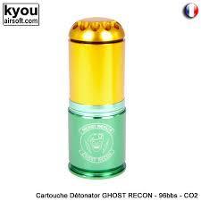 Kyou - Cartouche CO2 Détonator Ghost recon - 96bbs (grenade)