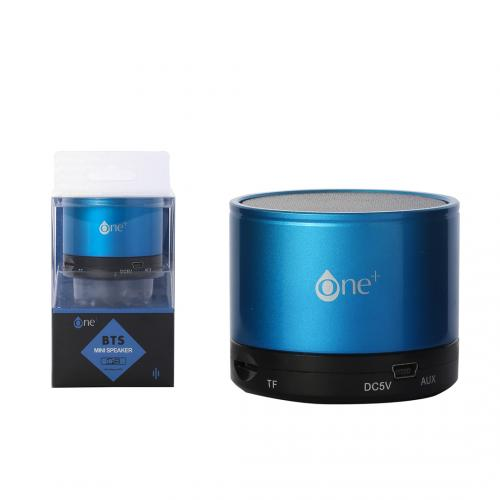 Mini Enceinte Bluetooth Bleu 3W