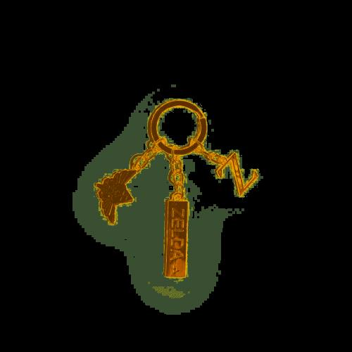Alita Battle Angel Golden Hand Keychain Métal Pendentif porte-clefs porte-clés COS
